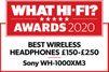 Sony WH1000XM3B Premium Wireless NC Headphones - Black