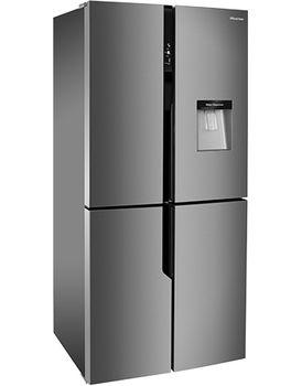 Hisense RQ560N4WC1 Multidoor F/Freezer (Steel Look)