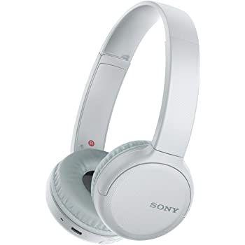 Sony WHCH510W Wireless Bluetooth Headphones - White